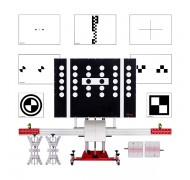 Стенд для калибровки камер автомобиля Autel MaxiSys ADAS, Full Kit, ACC, 10 мишеней в комплекте