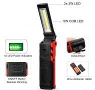 Ліхтар світлодіодний інспекційний (складаний, що перезаряджається)