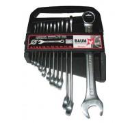 Набір ключів рожково-накидних в пластиковому утримувачі 12 пр. (6-22 мм). Baum 30-12MP
