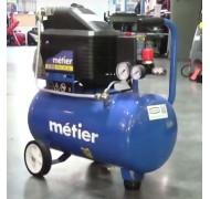 Компреcсор Metier IBL24F 1.8 квт 24 л пасової двоциліндровий
