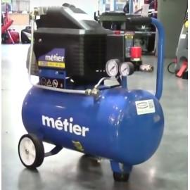 Компреcсор Metier IBL24F 1.8 квт 24 л  ременной двухцилиндровый