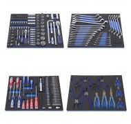Набор инструмента для телег, 209 предметов. 4 ложемента